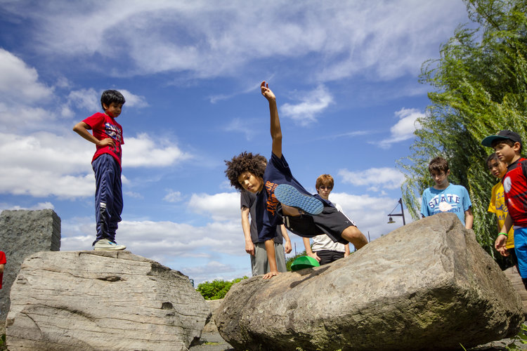 Parkour - Run, jump, and climb your way over obstacles at The Movement Creative.All ages | $60