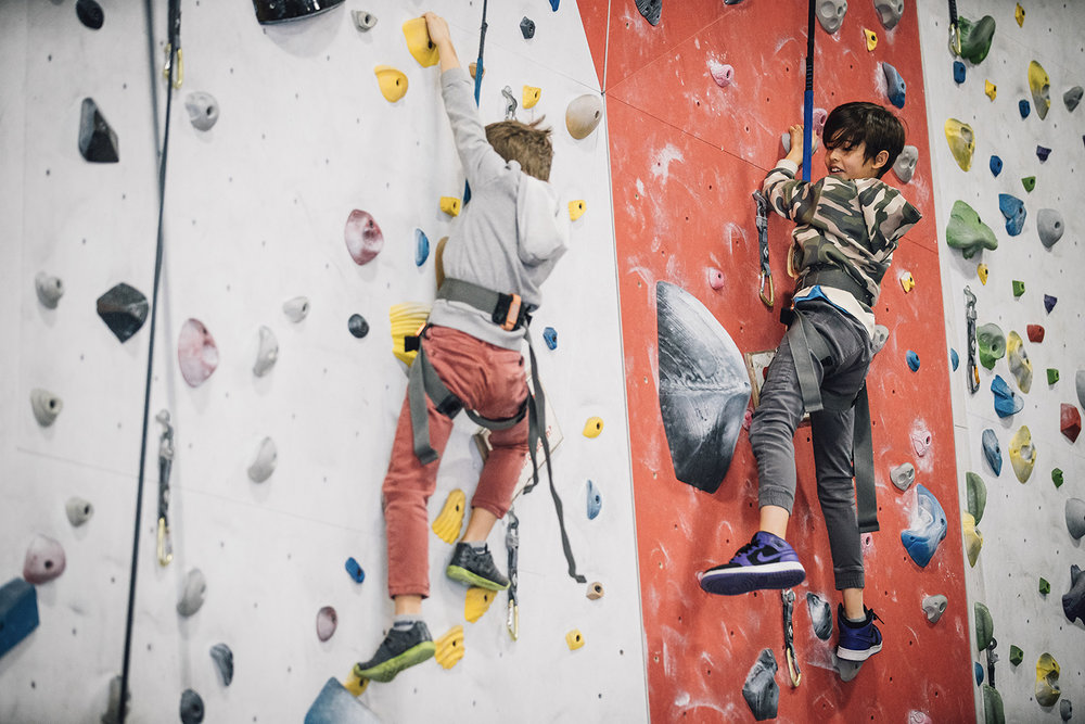 Party Area - Your party will have a dedicated area and private climbing walls for 2 hours!