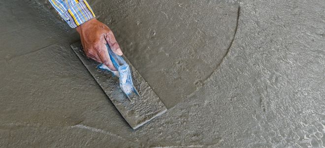 Concrete Finishing -