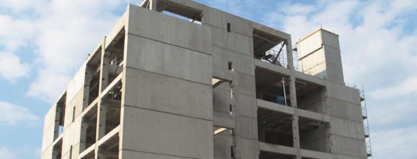 Prefabricated concrete -