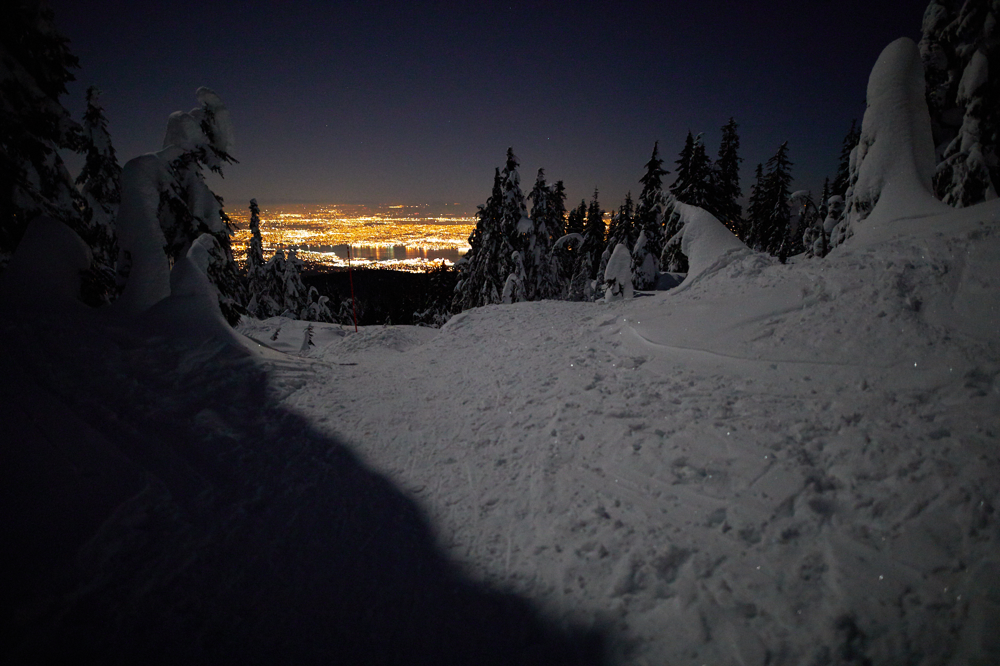 Hollyburn Mountain Full Moon 5