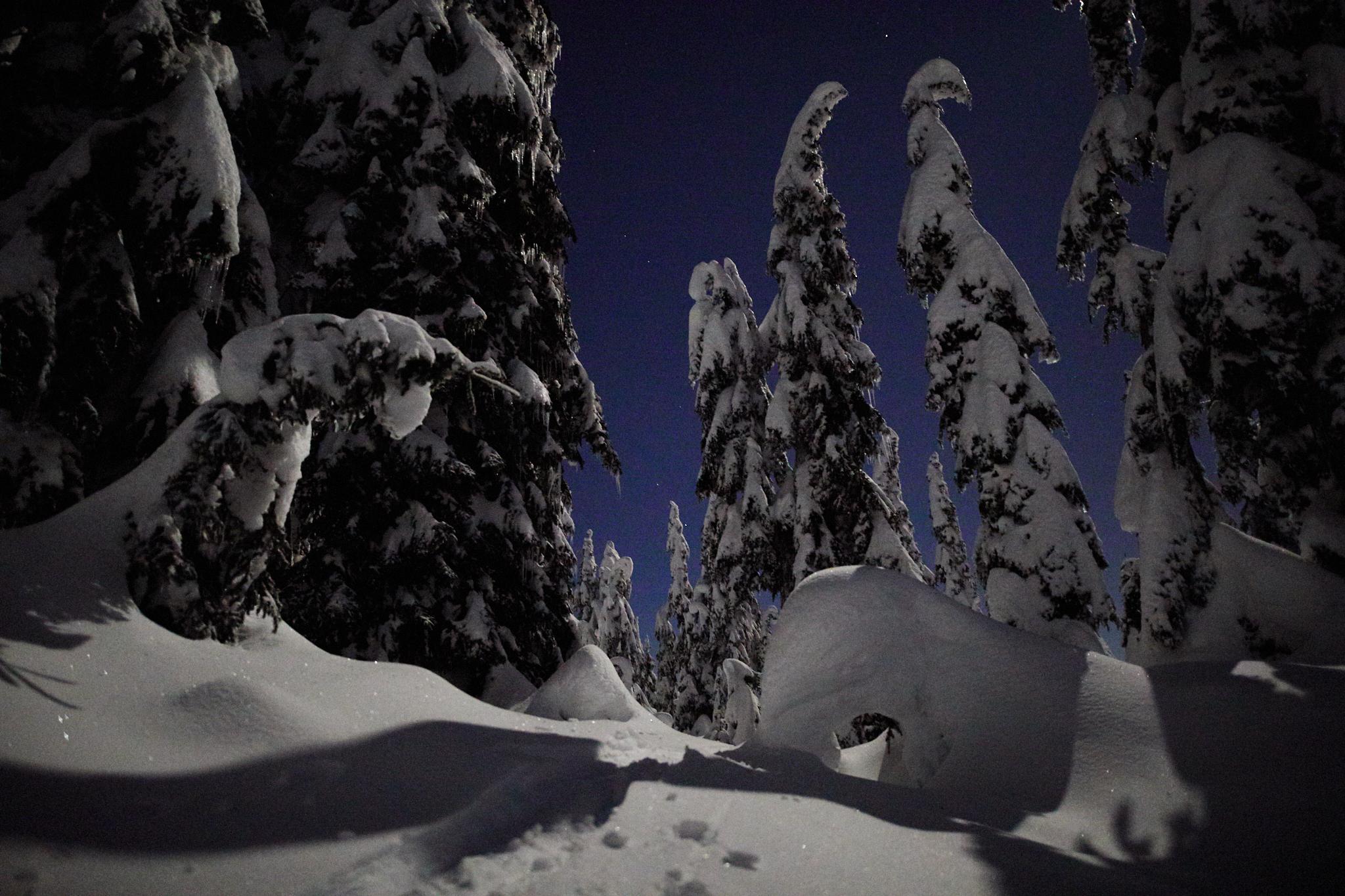 Hollyburn Mountain Full Moon 6