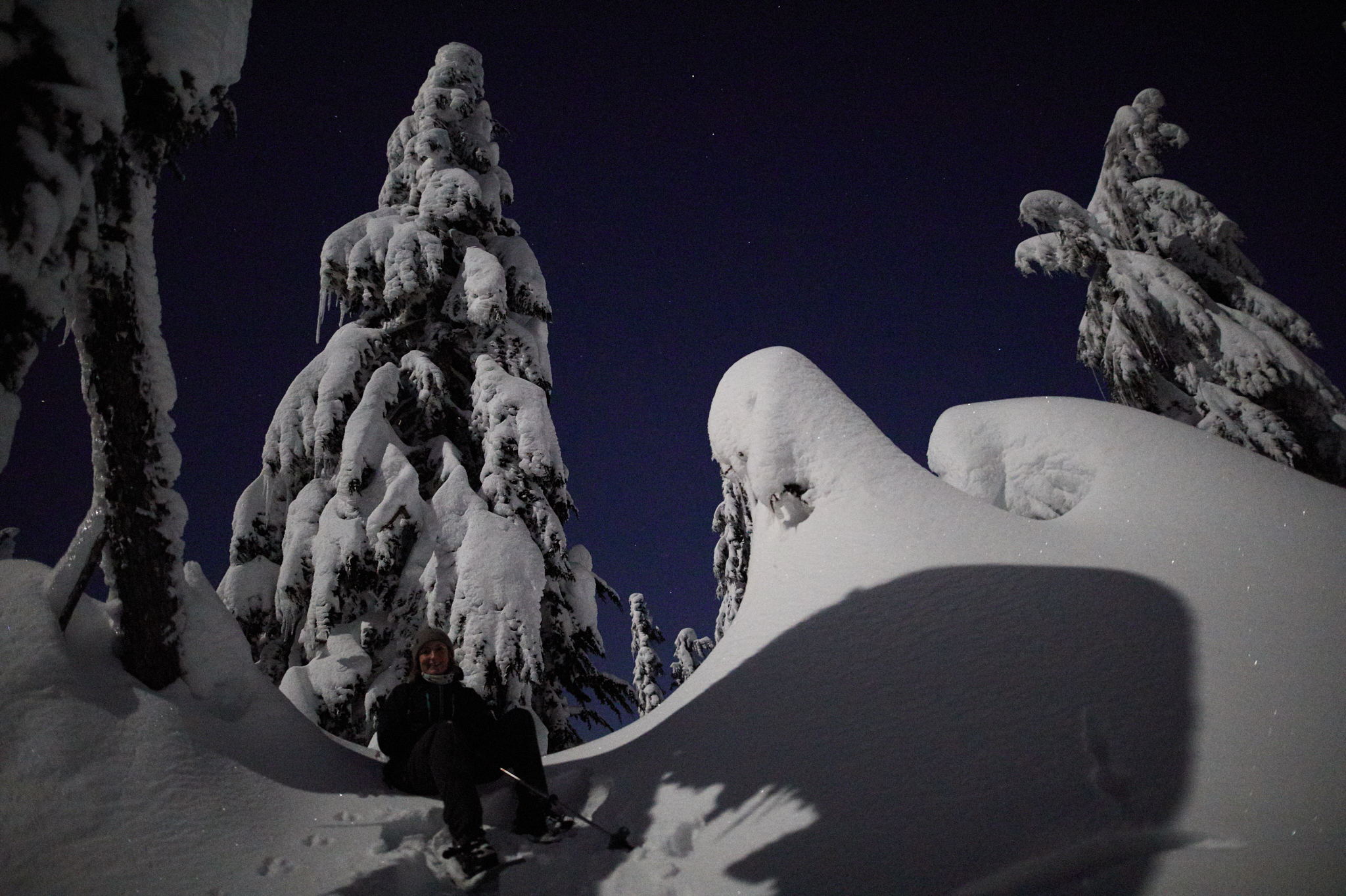 Hollyburn Mountain Full Moon 7