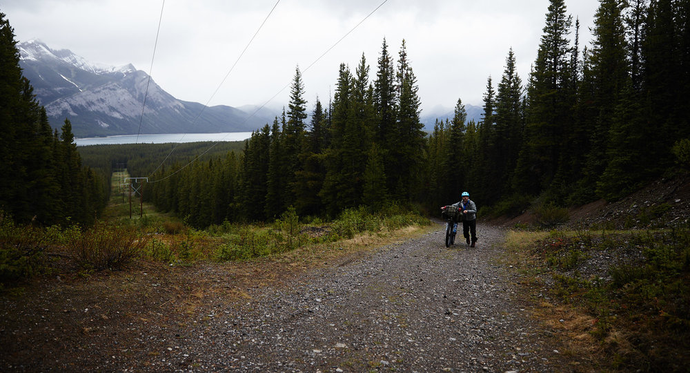 The next morning we started the very steep climb over Elk Pass towards Elkford.