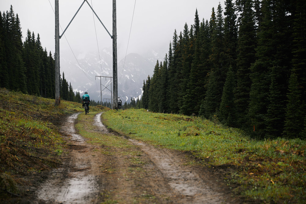The rest of the trail that day was extremely wet and muddy. We all agreed this was by far the hardest day physically and weather wise.