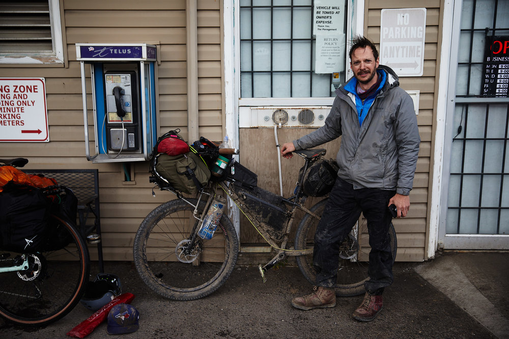 We did it! Over 10hrs later we rode into Elkford completely exhausted, covered in mud and soaking wet.