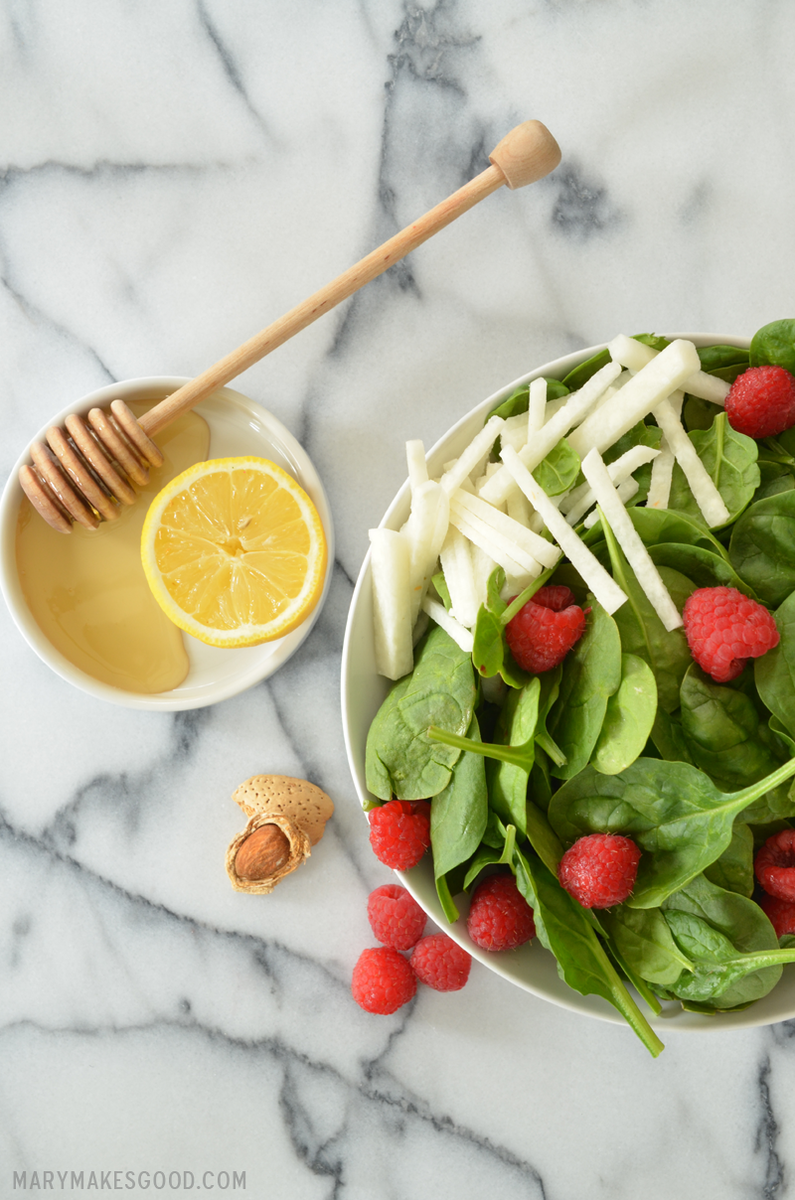 Spinach Salad | Mary Makes Good   Styling and photography by Mary Helen Leonard