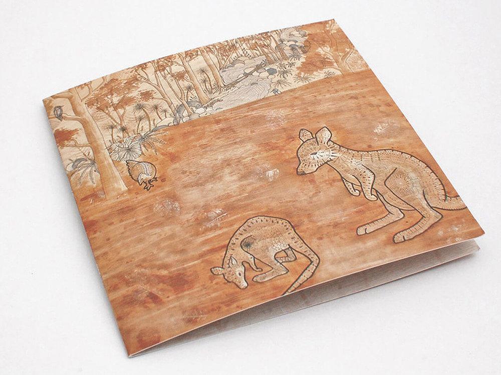 lalaland australian gift card design