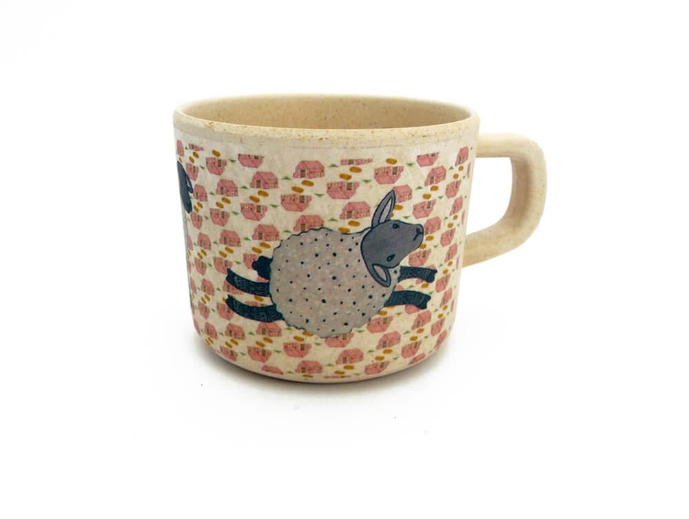 love mae bamboo children's mug design