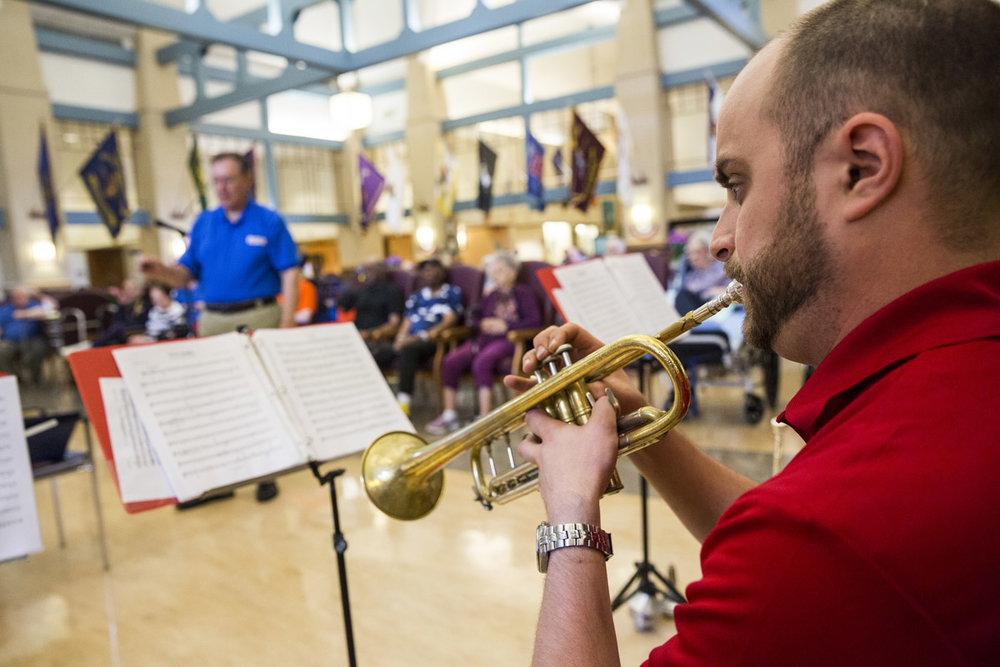 Patriot Brass Trumpet