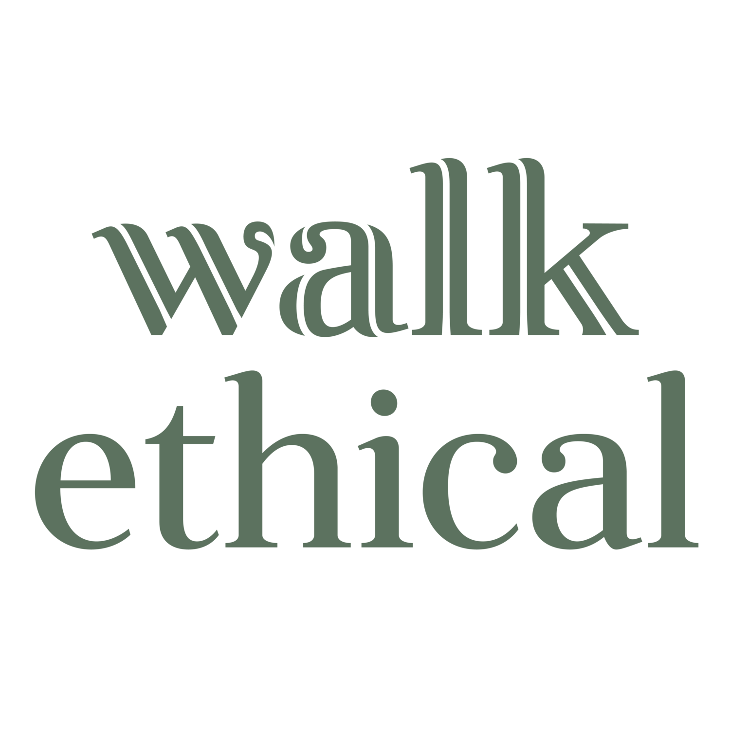 Walk Ethical