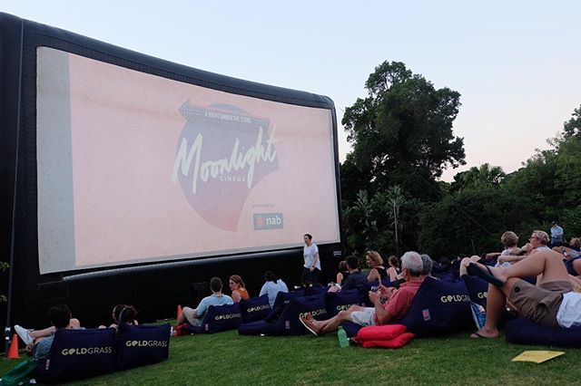 Watched an outdoor movie with the husband. We will definitely come prepared next time but it was such a lovely experience.✨ #moonlightcinema