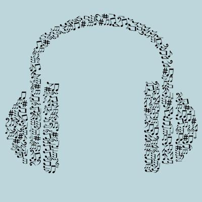 - LISTENING TO MUSIC