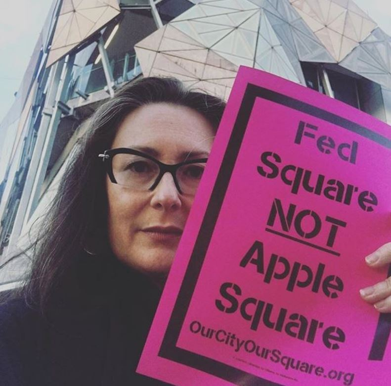 "Tania Davidge (spokesperson)   Tania is passionate about the importance of public space. As an architect, she believes that replacing Fed Square's Yarra Building with an Apple store would fundamentally undermine the focus of the square as a place for people, community, arts and culture.  ""There is no place in Melbourne that does what Fed Square does. It is unique. Fed Square sets a benchmark for public space - nationally and internationally - and a corporate entity like Apple simply does not belong there."""