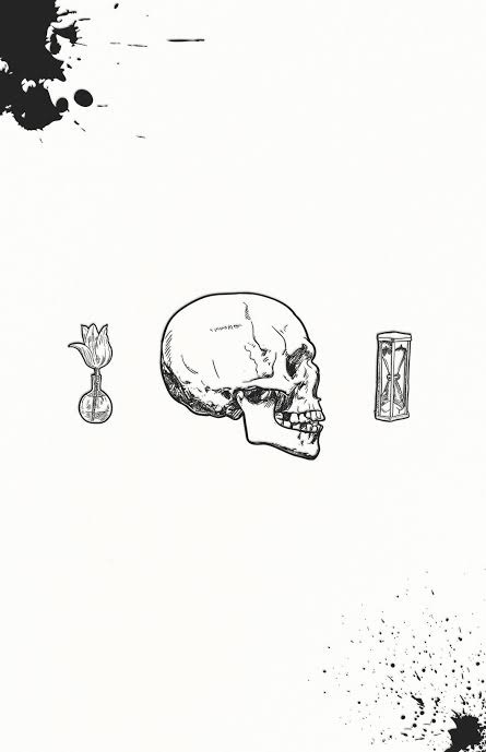 """Stoic symbol for Memento Mori - """"Remember that you will die."""""""