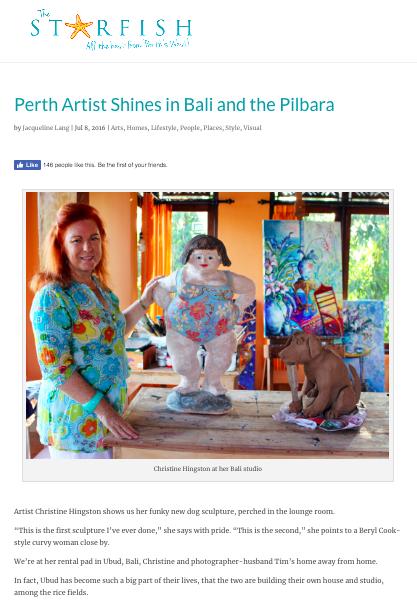 http://www.thestarfish.com.au/perth-artist-shines-in-bali-and-the-pilbara/