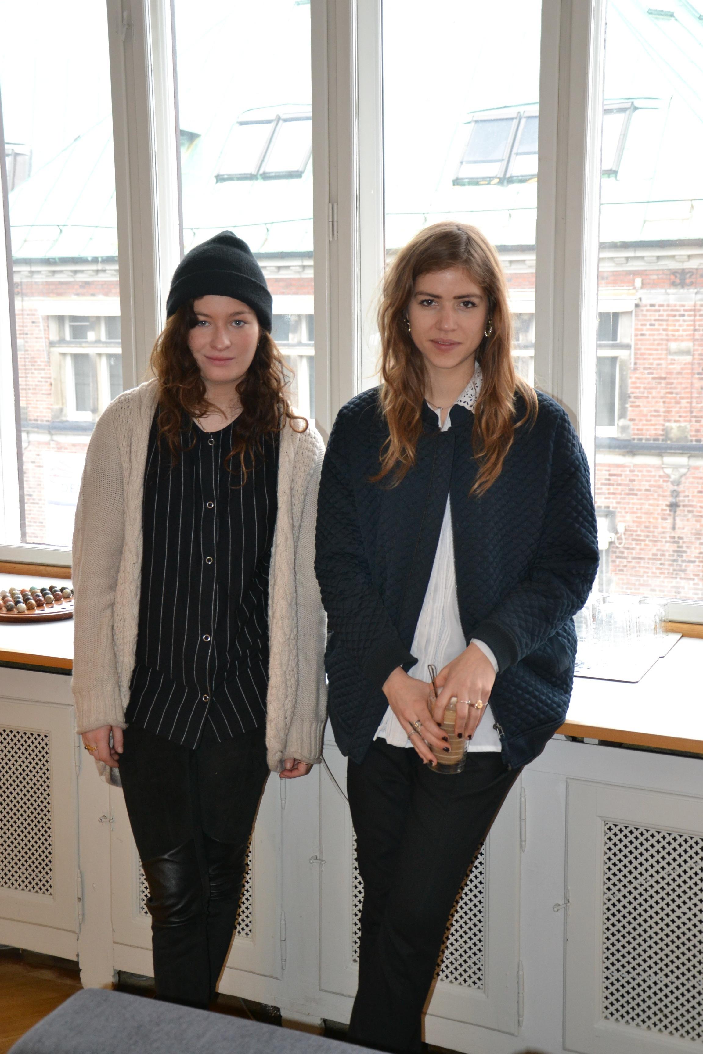 Annika og Trine