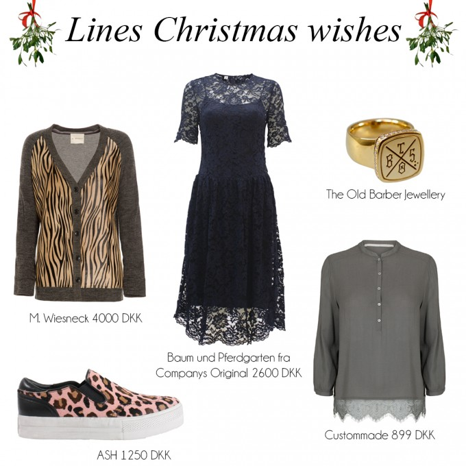 Christmas wishes Line