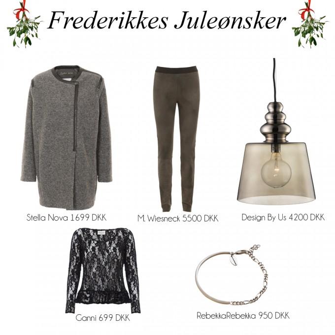 Julegaveideer Frederikke