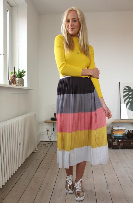ASOS skirt & top johanne kohlmetz