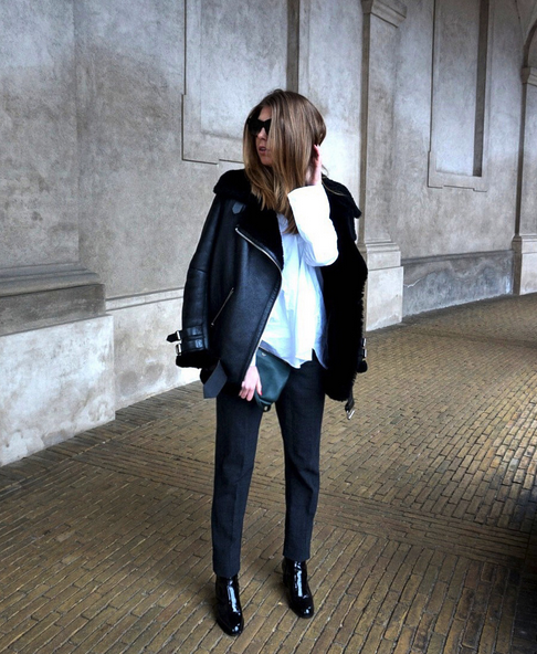 Envii trousers Cathrine Urhammer, multimediadesigner og blogger