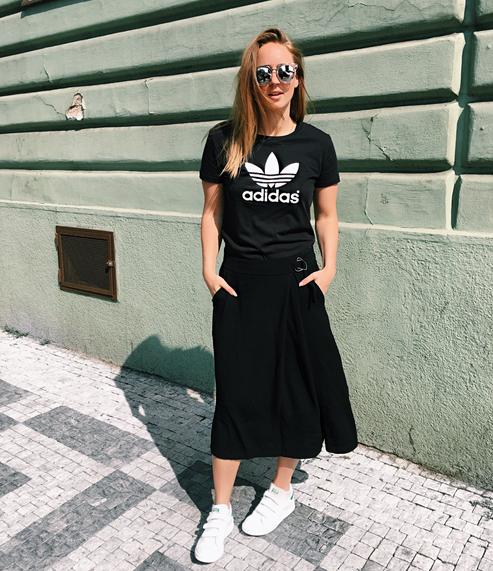 ASOS t-shirt and shoes frederikke egel