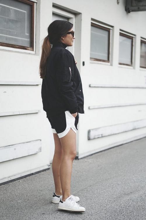 Envii bomber jacket and shorts, adidas originals shoes Stonemuse 2