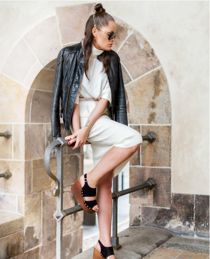 ELLOS top,nederdel,sko