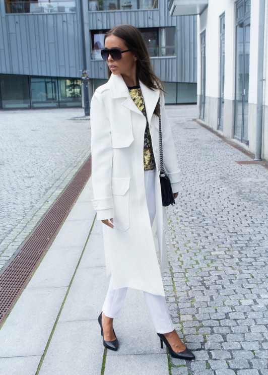maria kragmann asos jakke + stiletter