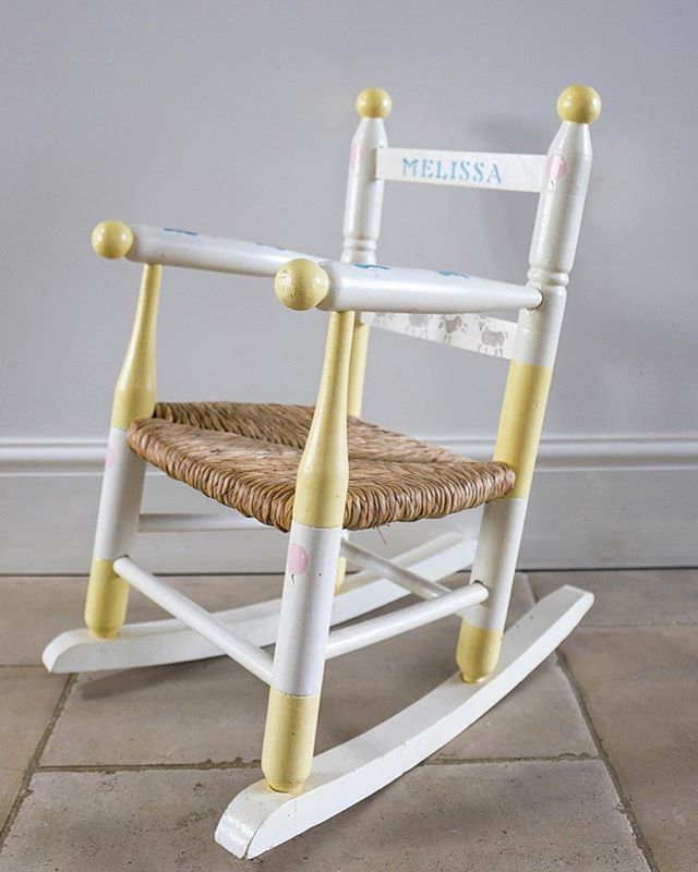 Melissa Rocking Chair £30.00 + P&P 💜 Calling any child called Melissa! 💜 We have got the perfect present for you - your own small rocking chair! 💜 Please get in touch to arrange collection or to see if we can drop this off to you as it would be difficult to post. 💜 Any queries, please contact us on getintouch@plumunlimited.co.uk 💜 www.plumunlimited.co.uk/shop - link in bio. 💜 💜 💜 #plumunlimited #plumsfund #pancreaticcancer #charity #donate #shop #worldpcc #pancreaticcancerawareness #pancreatic #pancreaticcanuk #like #instalike #follow #instafollow #f4f #l4l #picoftheday #chair #melissa #rockingchair #child #children #sale #forsale #store #buy