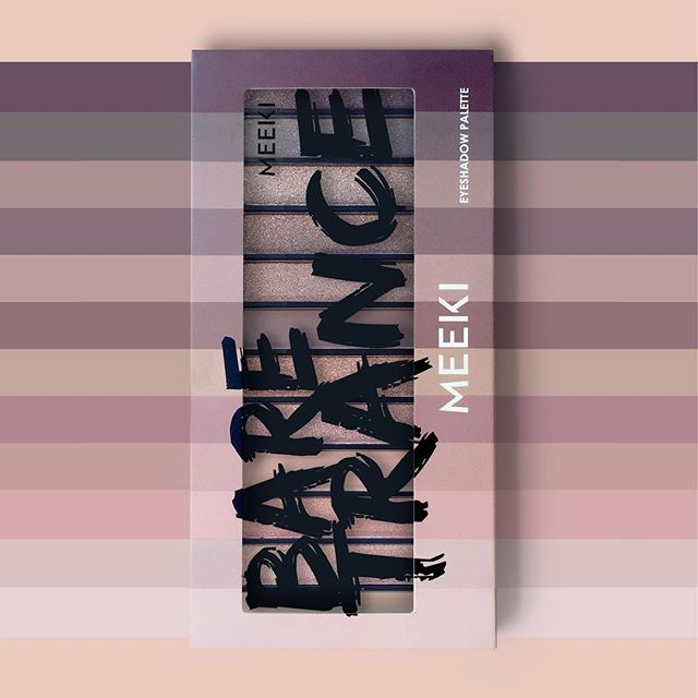 The Bare Trance palette: available exclusively at Action. #eyeshadow #meeki #actionnederland #baretrance #eyes