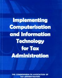 This publication offers guidance to revenue agencies that are in the process of designing or implementing computerisation or information technology projects to improve the efficiency of their tax administration. It draws on the experiences of Australia, Malaysia, Malta, Pakistan, Singapore and Tanzania.