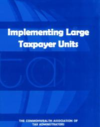 More and more tax administrations are setting up specialised units for dealing with large taxpayers. This publication presents the experience of seven Commonwealth tax administrations that have successfully created such units and identifies good practices in this area