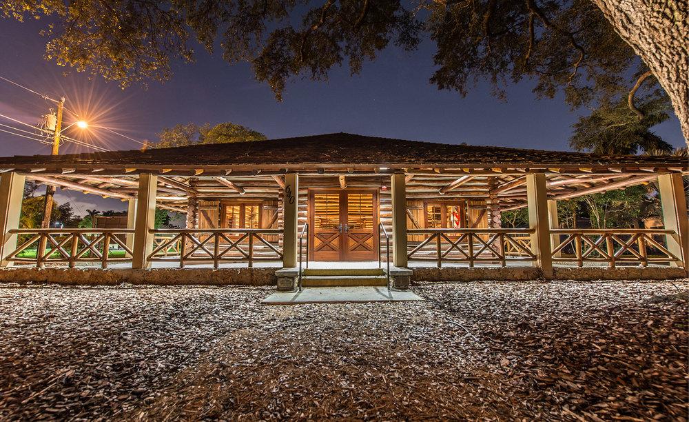 Village of Biscayne Park Log Cabin