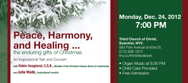 2012 Christmas Concert and Lecture
