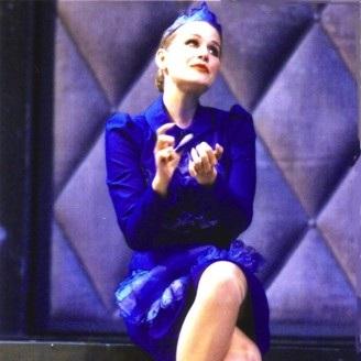 Julia in LADY IN THE DARK