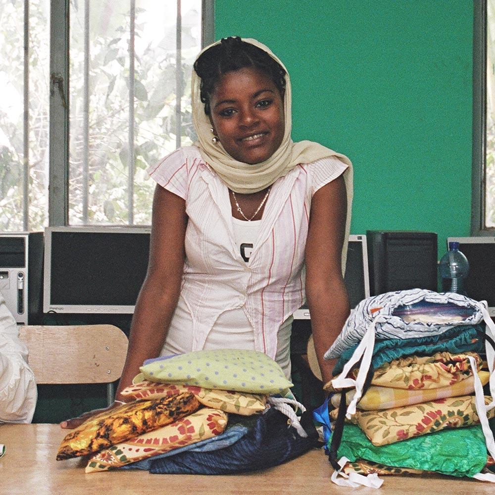 Menstrual Activism - Kellensoo, Ethiopia, 1,500 pad kits distributed