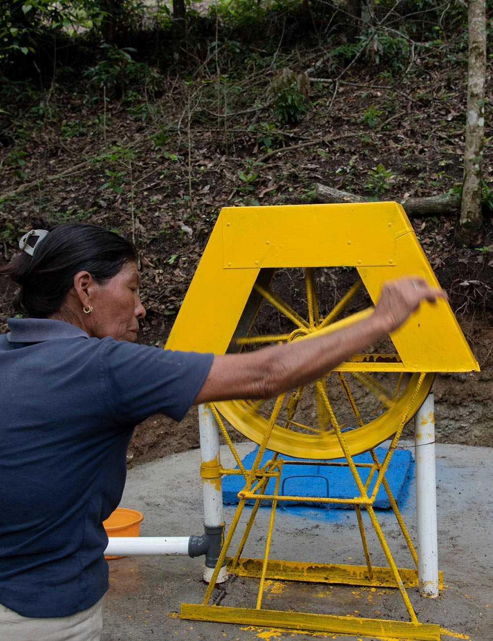 Clean Water Access - Totogalpa, Nicaragua, 5 wells covered or refurbished, 345 people received access to clean water.