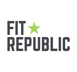 Updated mark for Fit Republic.