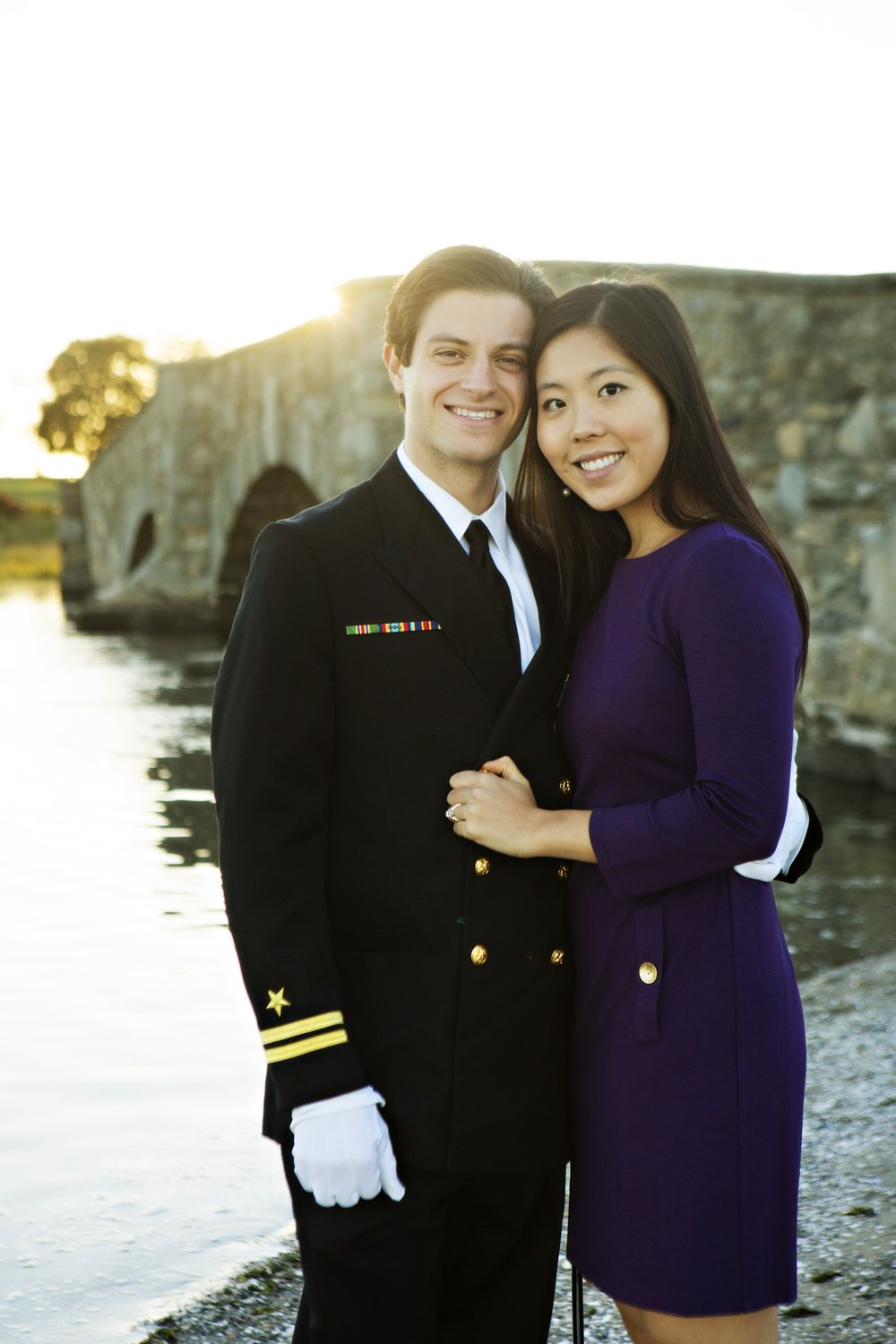 Nathan is married to Roanna. They withstood five years of long-distance during Nathan's military service before marrying.