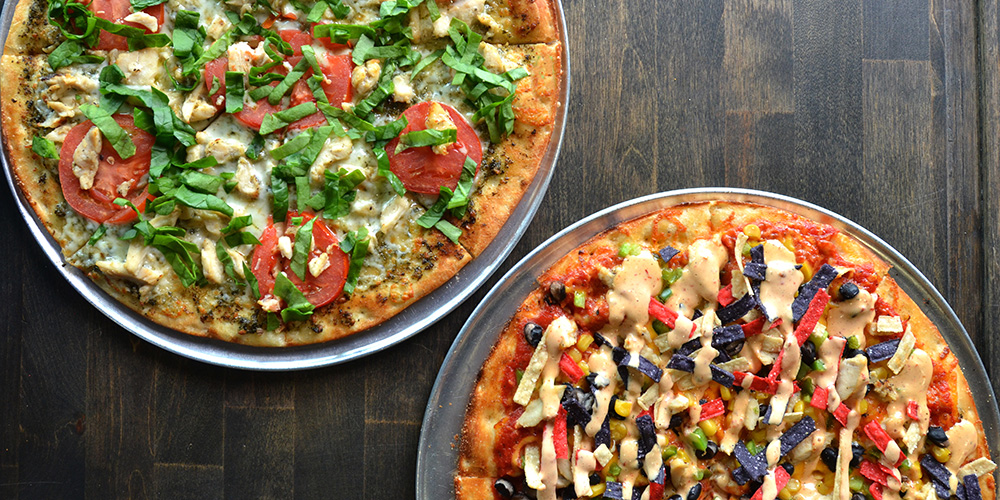 Handcrafted Pizzas -