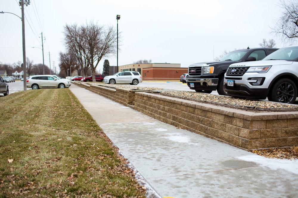 Rock Valley Hospital Retaining wall.jpg