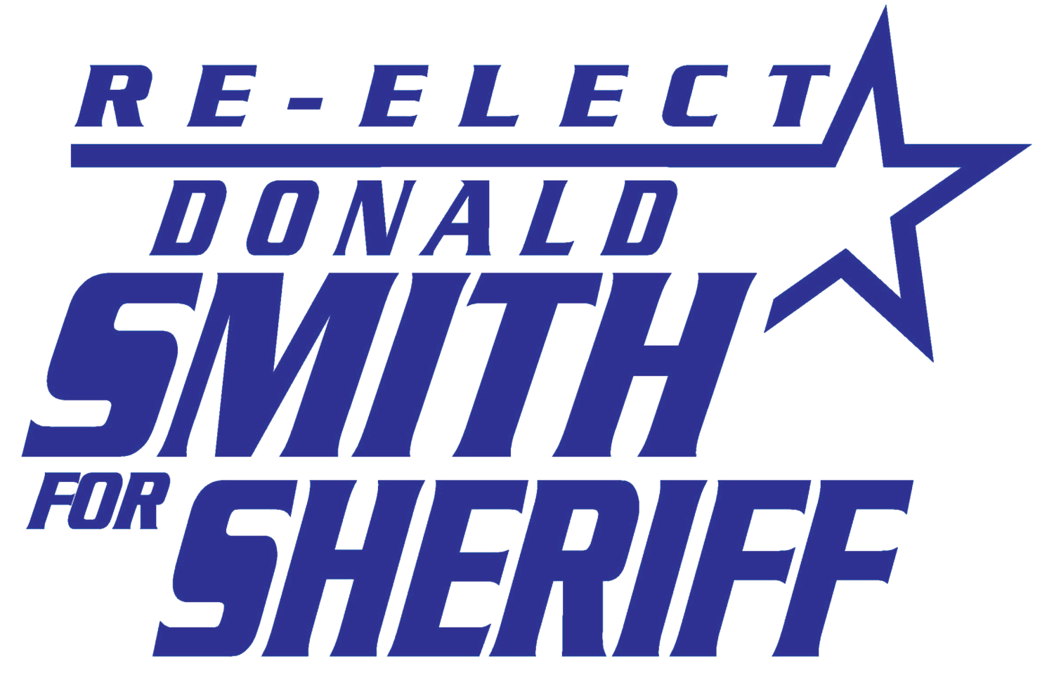 Re-Elect Donald Smith For Sheriff