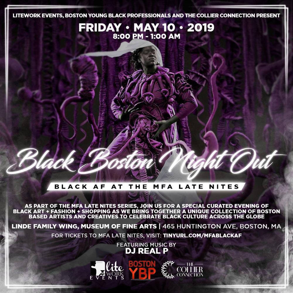 Black Boston Night Out — Boston Young Black Professionals
