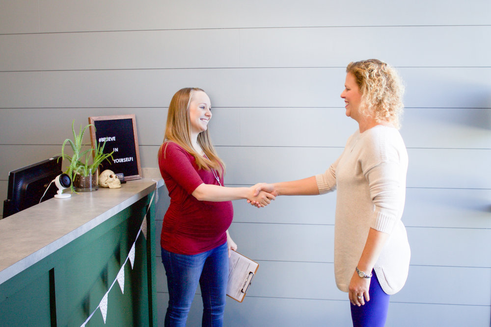 Arrival & Paperwork - When you first arrive at Experience Life, you are greeted and given your New Practice Member Health Application to fill out. This generally takes about 5-10 minutes.