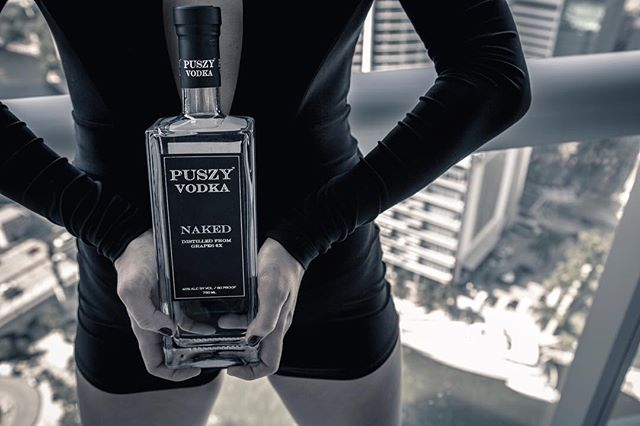 On this Halloween night we would like to celebrate by announcing that #PuszyVodka will be a proud sponsor for #ArtBasel at @therivieramiami & @catalinahotel thanks to @nymiasc! Watch out Miami, #puszyiscoming! 📸:@dexoliverhobbes #miami #southbeach #vodka #sbghotels #30daycountdown