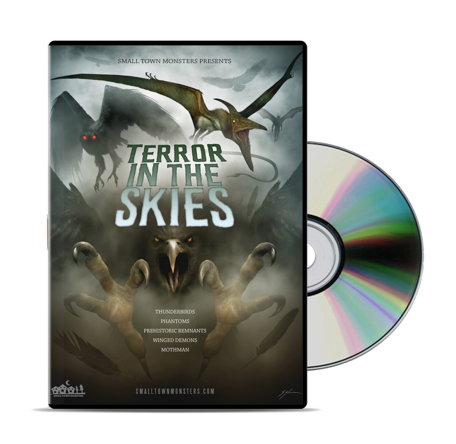 Terror in the Skies DVD — Small Town Monsters