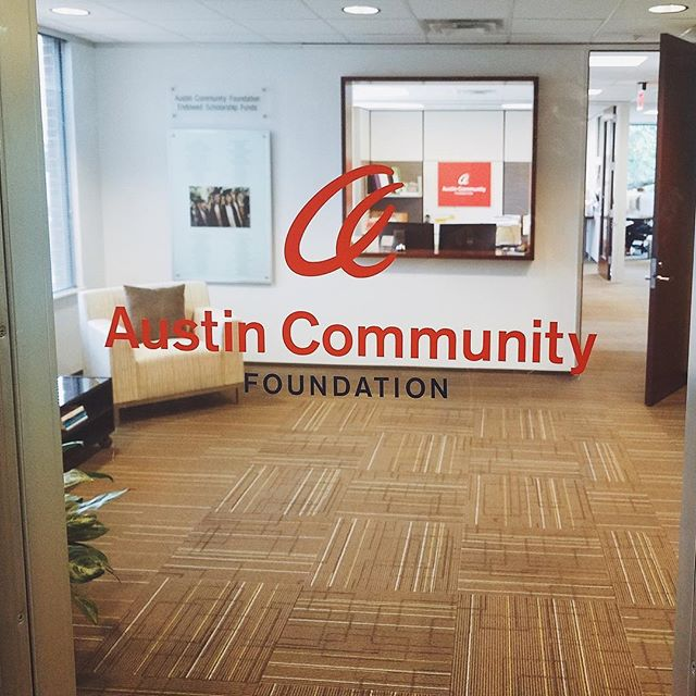 Austin Community Foundation - Identity + Branding, Print Design, Squarespaces, Explainer Video, Event Branding and Collateral