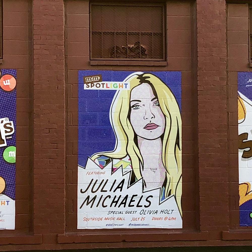 M&Ms Spotlight - Illustration, Poster Design