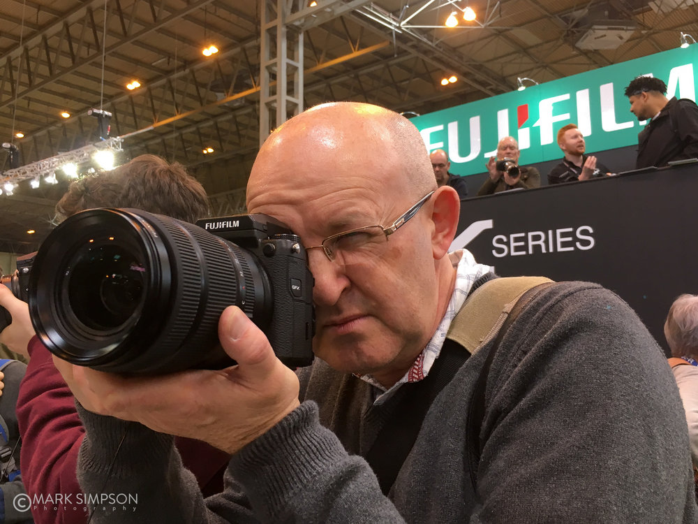 Testing the FujiFilm GFX 50S at The Photography Show